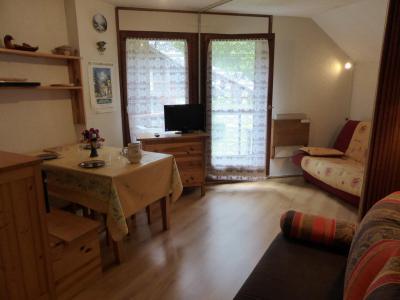 Rent in ski resort Studio cabin 4 people (B66) - Résidence la Borgia - Les Contamines-Montjoie