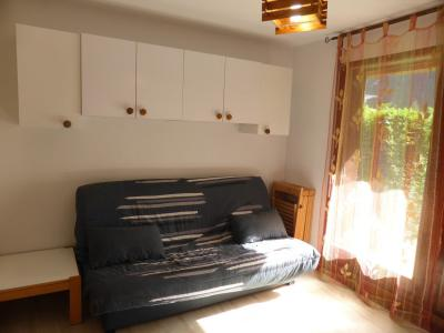 Rent in ski resort Studio sleeping corner 4 people (795) - Résidence la Borgia - Les Contamines-Montjoie - Living room