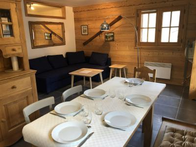Rent in ski resort 2 room apartment cabin 6 people (798) - Résidence la Cressoua - Les Contamines-Montjoie - Kitchenette