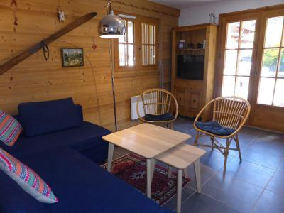 Rent in ski resort 2 room apartment cabin 6 people (798) - Résidence la Cressoua - Les Contamines-Montjoie - Living room