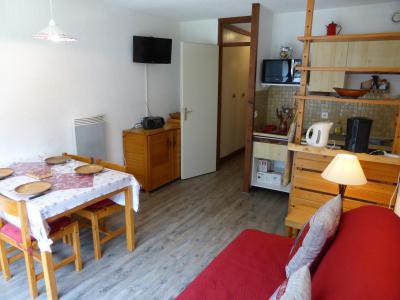 Аренда на лыжном курорте Квартира студия со спальней для 5 чел. (F1E) - Résidence le Brulaz - Les Contamines-Montjoie - Салон