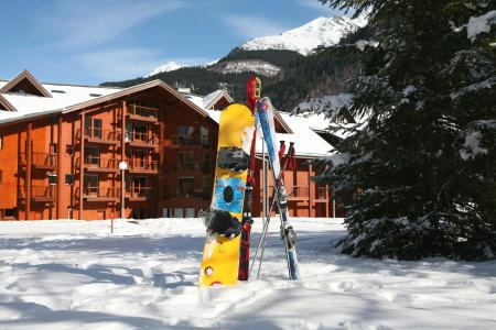 Location au ski Résidence le Névez - Les Contamines-Montjoie - Extérieur hiver