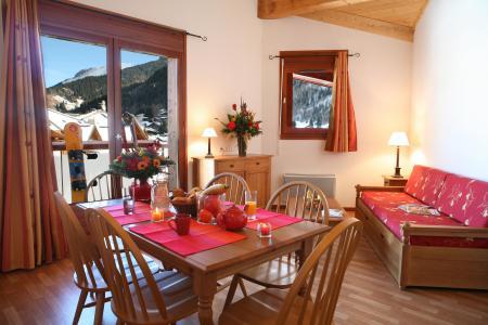 Location au ski Appartement 3 pièces 6 personnes - Residence Le Nevez - Les Contamines-Montjoie - Séjour