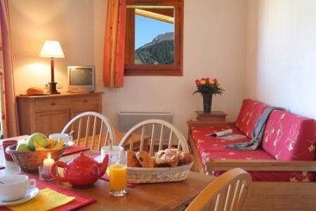 Location au ski Residence Le Nevez - Les Contamines-Montjoie - Coin repas