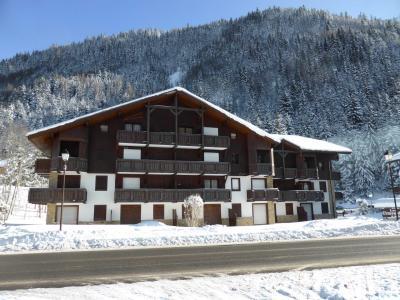 Vacances en montagne Résidence les Cimes d'Or - Les Contamines-Montjoie - Extérieur hiver