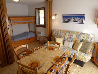 Аренда на лыжном курорте Квартира студия со спальней для 4 чел. (A118) - Résidence les Cimes d'Or - Les Contamines-Montjoie - Салон
