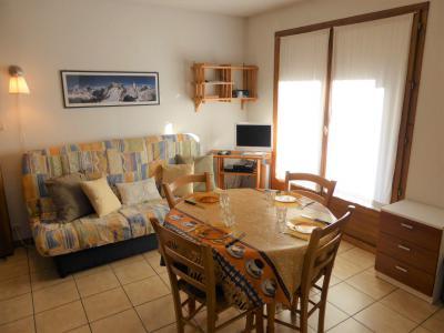 Аренда на лыжном курорте Квартира студия со спальней для 4 чел. (A118) - Résidence les Cimes d'Or - Les Contamines-Montjoie - Стол
