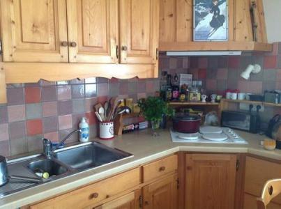 Location au ski Appartement 3 pièces 6 personnes (748) - Residence Les Rhodos - Les Contamines-Montjoie - Kitchenette