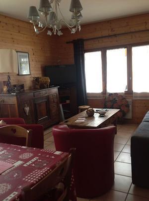 Location au ski Appartement 3 pièces 6 personnes (748) - Residence Les Rhodos - Les Contamines-Montjoie - Séjour