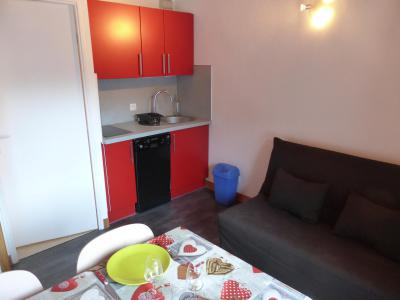 Rent in ski resort 2 room apartment 5 people (F406) - Résidence Pierres Blanches - Les Contamines-Montjoie - Kitchenette