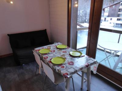 Rent in ski resort 2 room apartment 5 people (F406) - Résidence Pierres Blanches - Les Contamines-Montjoie - Table
