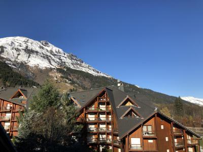 Rent in ski resort Studio sleeping corner 4 people (H566) - Résidence Pierres Blanches - Les Contamines-Montjoie