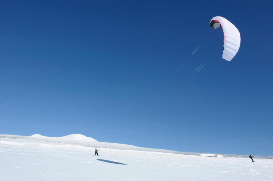 Location au ski VVF Villages les Drailles du Mézenc - Les Estables - Extérieur hiver