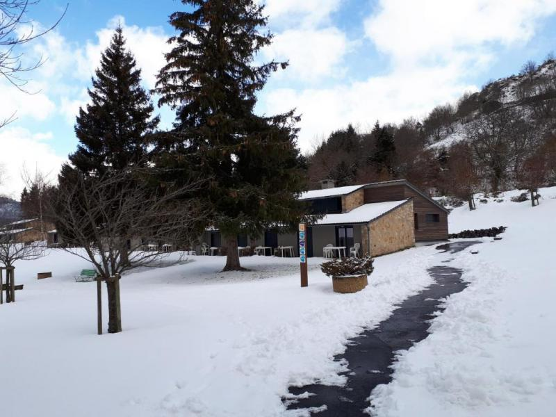 Аренда на лыжном курорте VVF Villages les Sucs du Velay - Les Estables - зимой под открытым небом