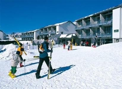 Location au ski Vvf Villages Les Drailles Du Mezenc - Les Estables - Extérieur hiver