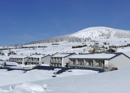 Location au ski VVF Villages les Sources de la Loire - Les Estables - Extérieur hiver