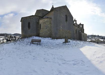 Location au ski VVF Villages les Sucs du Velay - Les Estables - Extérieur hiver