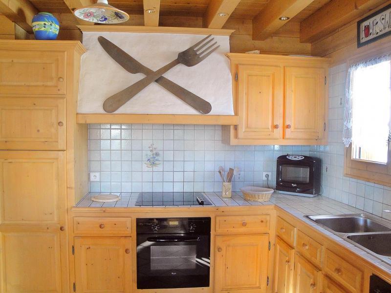 Location au ski Chalet Portes du Soleil - Les Gets - Cuisine