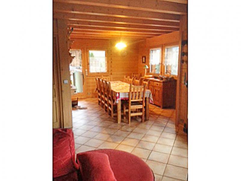 Location au ski Chalet Portes du Soleil - Les Gets - Salle à manger