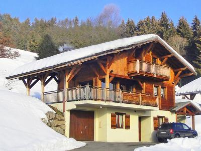Holiday in mountain resort Chalet Portes du Soleil - Les Gets - Winter outside