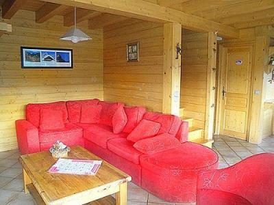Location au ski Chalet Portes Du Soleil - Les Gets - Séjour