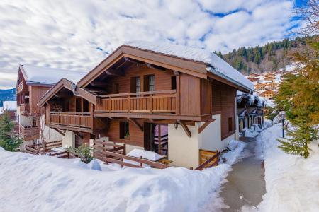 Location au ski Résidence Lagrange les Fermes d'Emiguy - Les Gets - Extérieur hiver