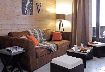 Location au ski Résidence Lagrange les Fermes d'Emiguy - Les Gets - Canapé