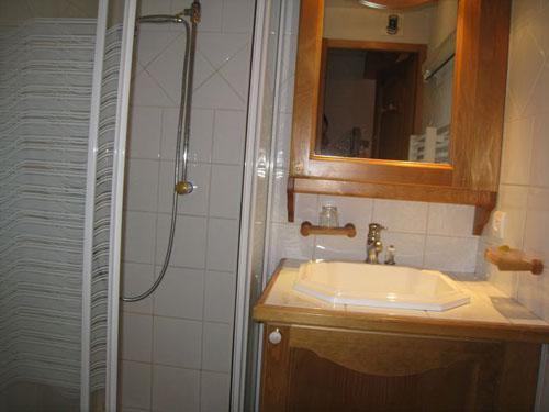 Location au ski Appartement 2 pièces cabine 6 personnes (10) - Les Hauts De Chavants Berard - Les Houches - Douche