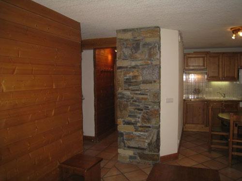 Location au ski Appartement 2 pièces cabine 6 personnes (10) - Les Hauts De Chavants Berard - Les Houches - Kitchenette