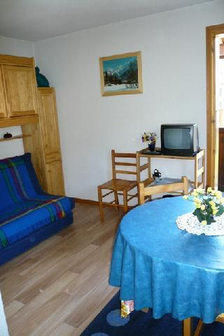 Location au ski Studio 4 personnes (28) - Residence Le Prarion 2 - Les Houches - Table