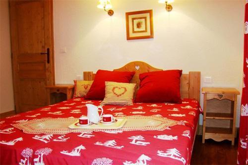 Location au ski Appartement 3 pièces 6 personnes - Residence Les Balcons D'anaite - Les Houches - Chambre