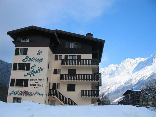 Première minute ski Residence Les Balcons D'anaite
