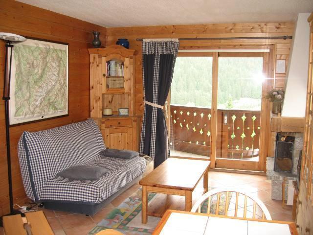 Location au ski Appartement 2 pièces 6 personnes (10) - Residence Les Hauts De Chavants Vallot - Les Houches - Canapé