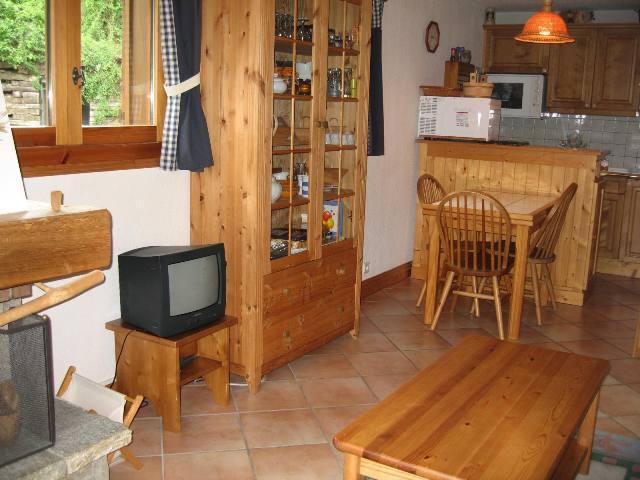 Location au ski Appartement 2 pièces 6 personnes (10) - Residence Les Hauts De Chavants Vallot - Les Houches - Tv