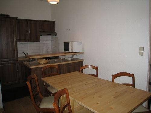 Location au ski Studio coin montagne 6 personnes (105) - Residence Sainte Marie - Les Houches - Table