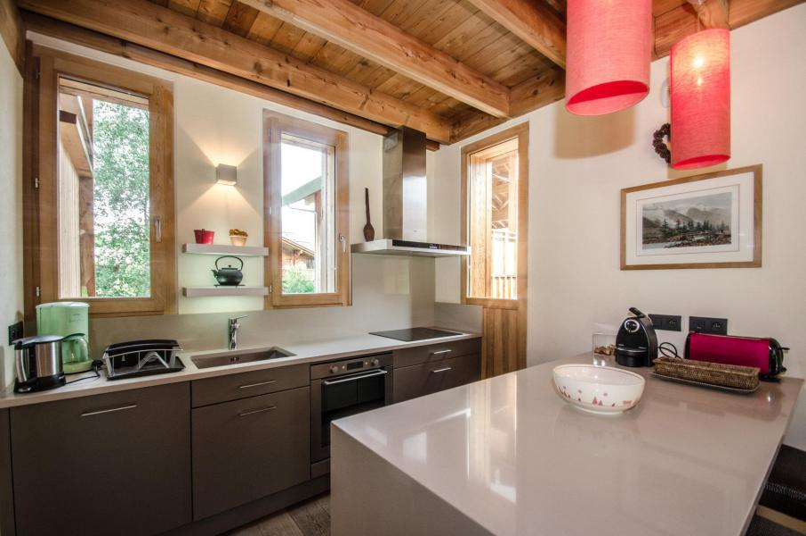 Аренда на лыжном курорте Шале 7 комнат 12 чел. - Chalet Athina - Les Houches - Кухня