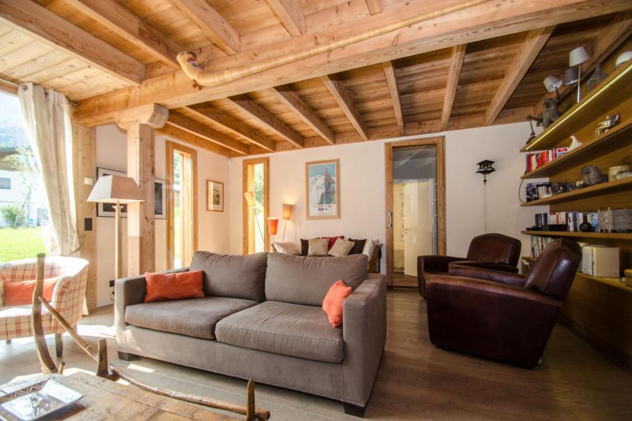Аренда на лыжном курорте Шале 7 комнат 12 чел. - Chalet Athina - Les Houches - Салон