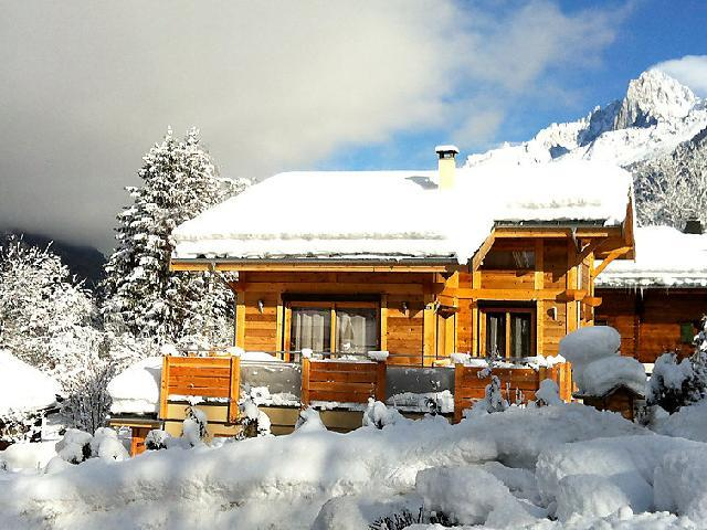Holiday in mountain resort 2 room apartment 3 people (1) - Chalet Fouladoux - Les Houches - Winter outside