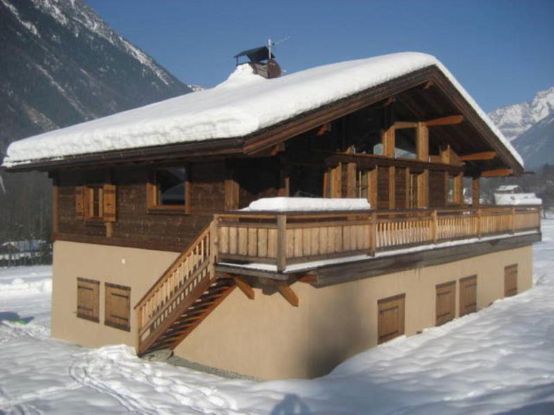 Location au ski Chalet 6 pièces 10 personnes (1) - Chalet Ibex - Les Houches - Extérieur hiver