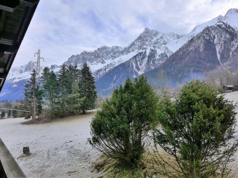 Vacances en montagne Chalet 4 pièces 6 personnes (1) - Chalet Saint Antoine - Les Houches - Extérieur hiver