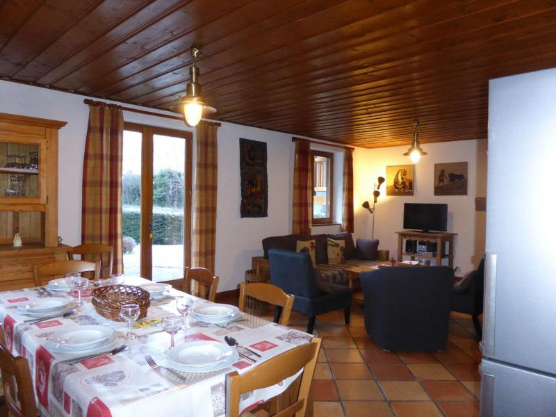 Location au ski Chalet 5 pièces 8 personnes - Chalet Ulysse - Les Houches - Table