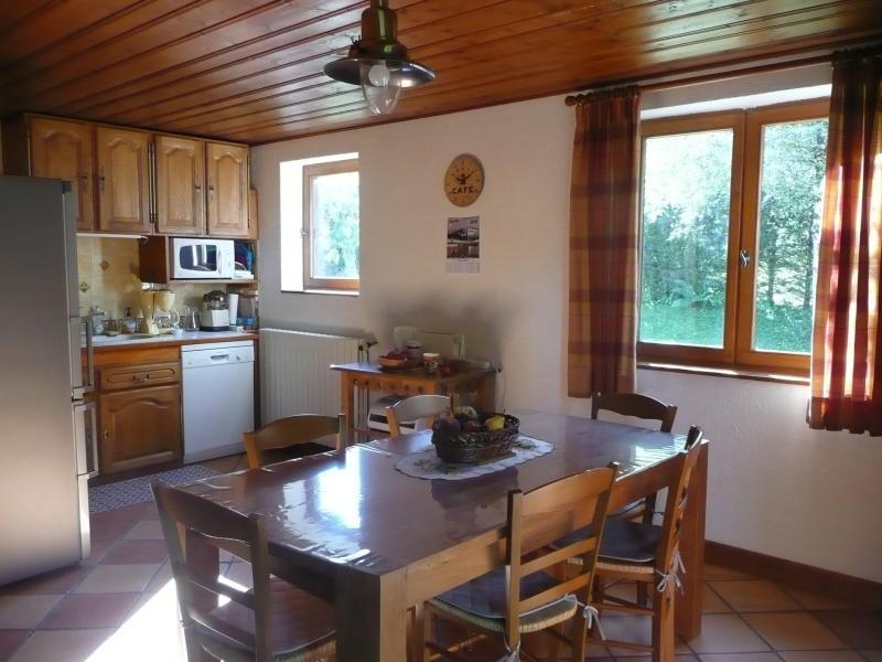 Soggiorno sugli sci Chalet 5 stanze per 8 persone - Chalet Ulysse - Les Houches - Angolo pranzo