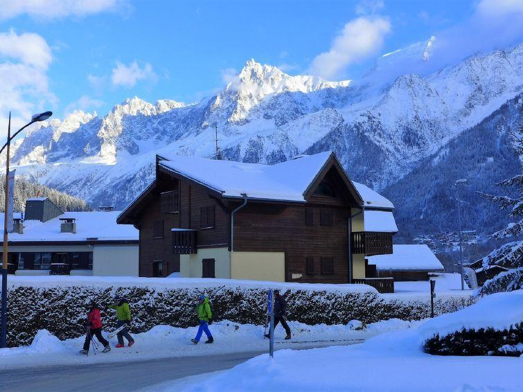 Holiday in mountain resort 3 room apartment 4 people (1) - L'Hermine - Les Houches - Winter outside
