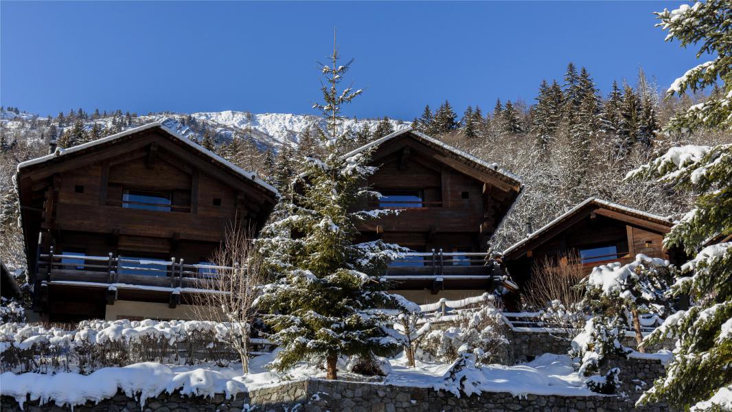 Location au ski Les Chalets Les Granges d'en Haut 1 - Les Houches - Extérieur hiver