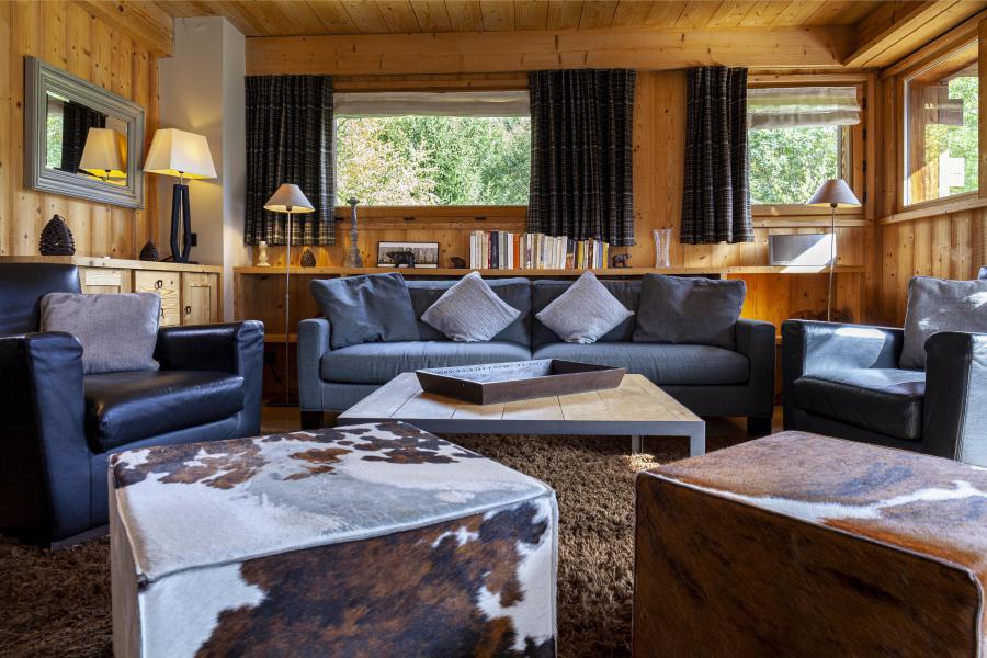 Location au ski Les Chalets Les Granges d'en Haut 2 - Les Houches - Séjour
