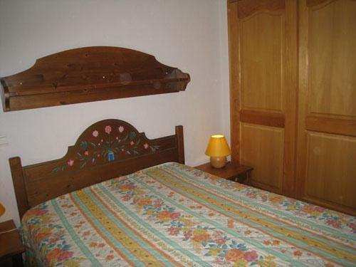 Location au ski Appartement 2 pièces cabine 6 personnes (10) - Les Hauts De Chavants Berard - Les Houches - Lit double