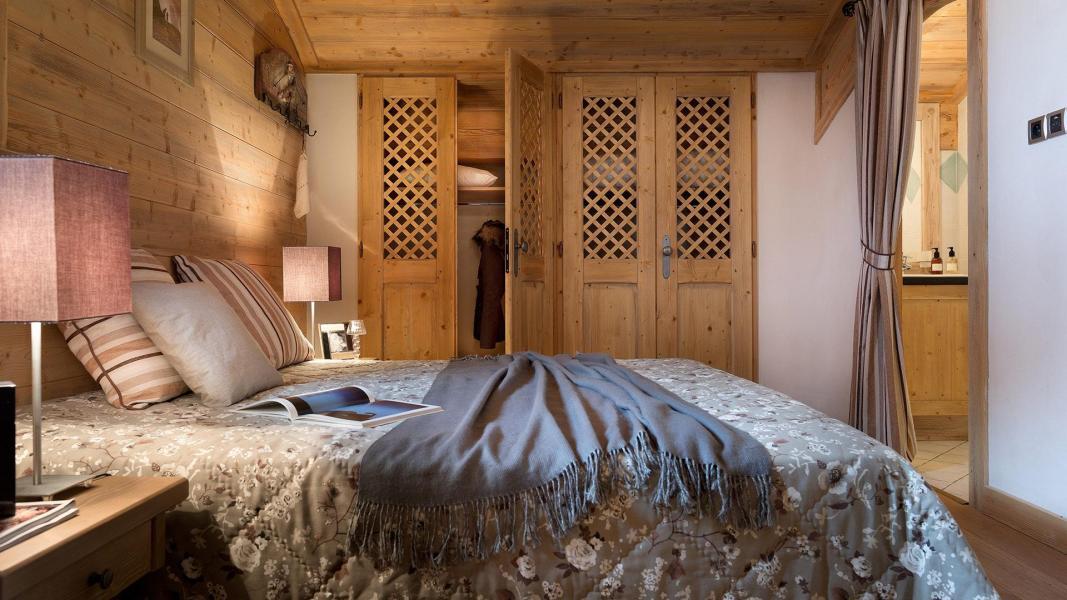 Rent in ski resort Résidence le Hameau de Pierre Blanche - Les Houches - Bedroom