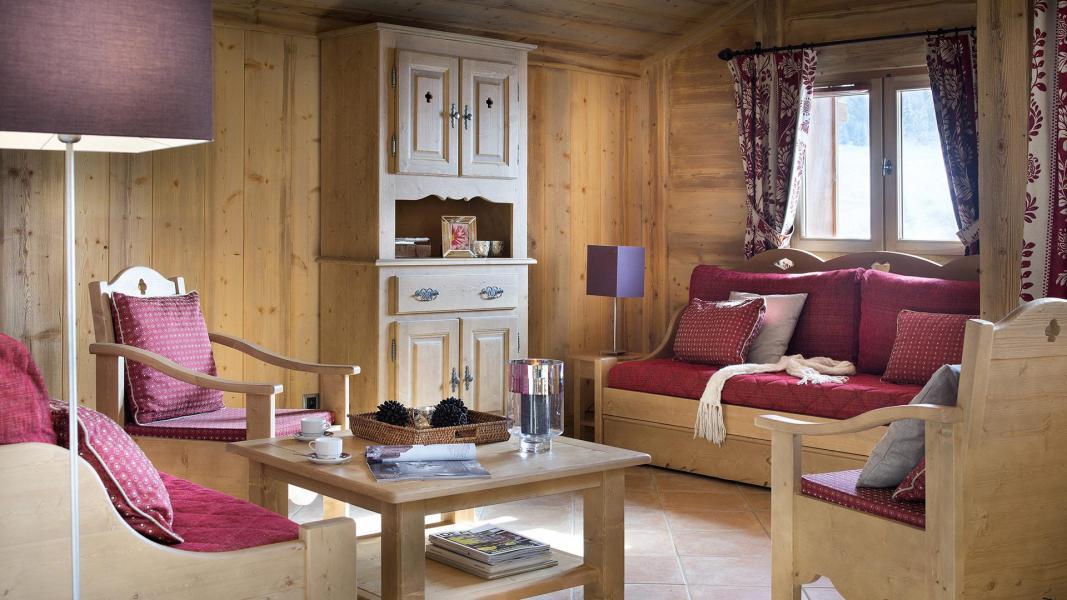 Rent in ski resort Résidence le Hameau de Pierre Blanche - Les Houches - Living room