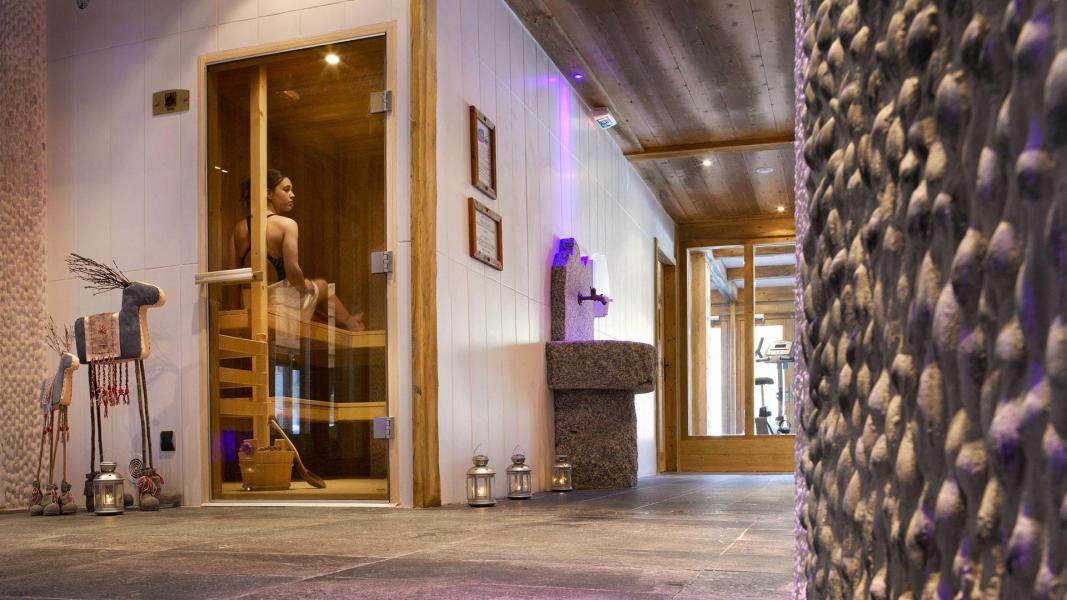 Alquiler al esquí Résidence le Hameau de Pierre Blanche - Les Houches - Sauna