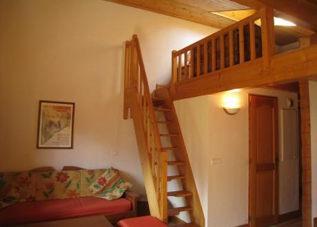 Location au ski Residence Les Hauts De Chavants Berard - Les Houches - Mezzanine